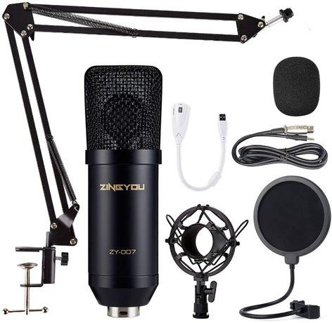 Kit microfon cardioid profesional ZINGYOU ZY-007,sigilat