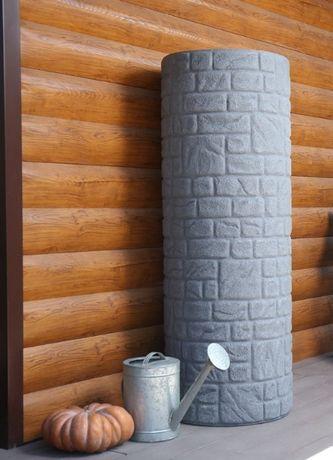Бочка, емкость декоративная Стоун, бочка, резервуар от 300л до 1000л
