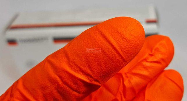 Manusi mecanica nitril groase-rezistente100buc/cut-L+XL