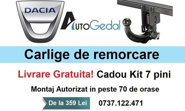Carlig Remorcare Dacia Lodgy 2012 - prezent Livrare Gratuita - Omolgat