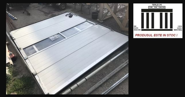 Poarta garaj atelier sectionala H 300 x L 280 Germania