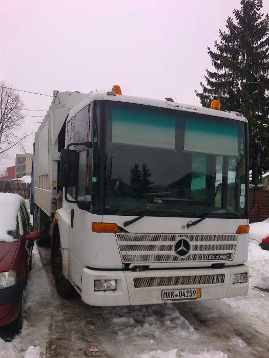 Vand sau Schimb Autogunoiera Mercedes Econic Onesti - imagine 1