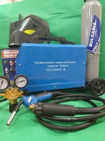Co2 Инвертор миг200 Телоподавачо пълен комплект
