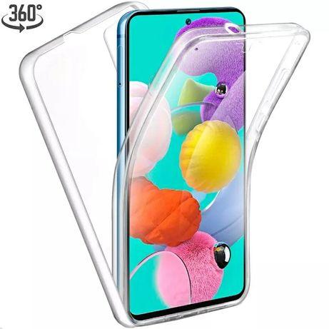 Силиконов 360° Градуса Кейс за Samsung Galaxy A51 /A71 Двойна защита