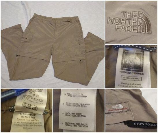 Pantaloni The North Face maron lungi/scurti L pescar vanator munte