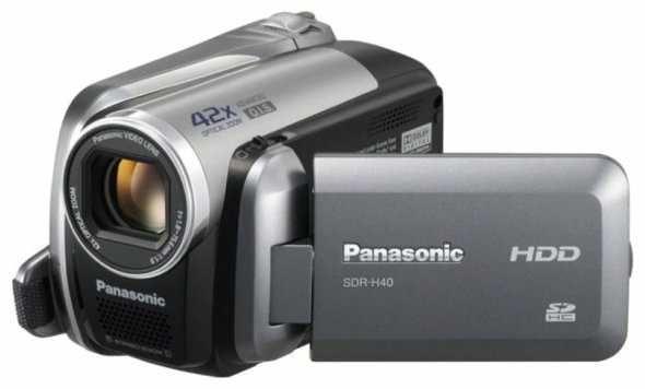 камера Panasonic SDR H40