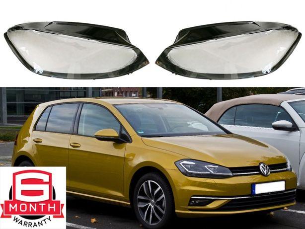 Sticla far VW Golf 7 Facelift [ 7.5 ] (2017-2020) Capac Geamuri