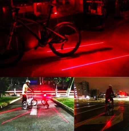 Вело стоп с лазер