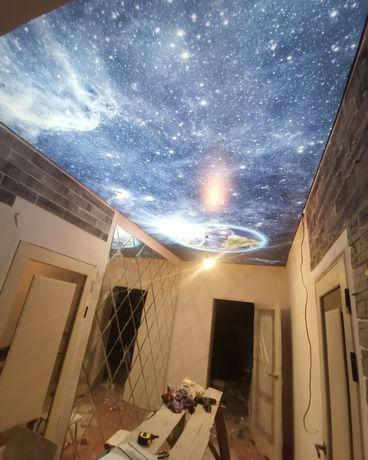 Акция. Натяжной потолок. Натяжные потолки