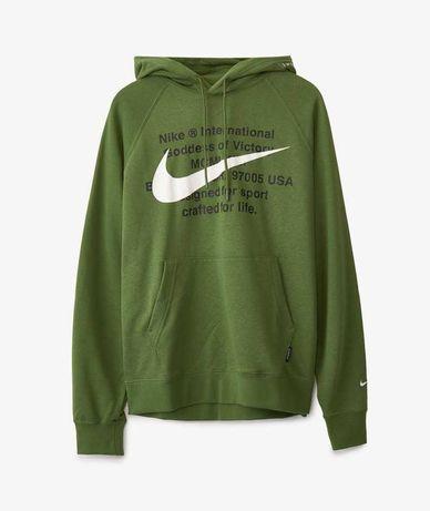 Hanorac Nike Swoosh Hoodie verde masurile XL