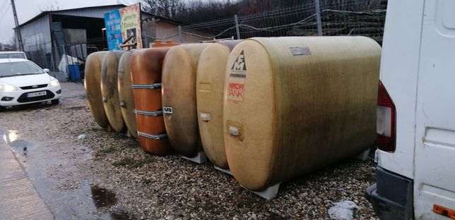 Butoi fibră de sticlă 1000 litri