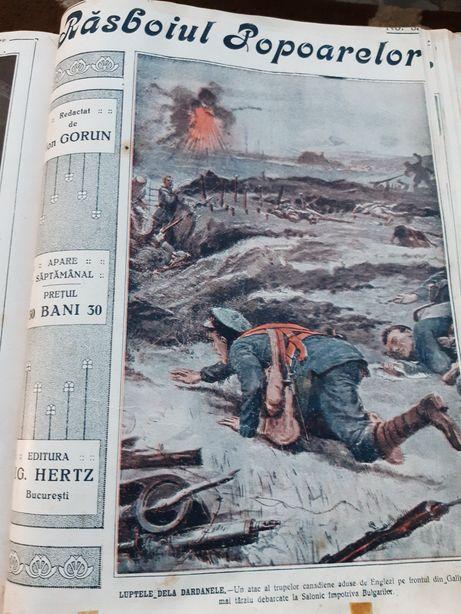 Revistele Rasboiul Popoarelor 1914-15 de la nr.5 la nr.40 de colectie