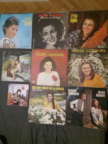 9 Disc-uri vinil pickup-Irina Loghin-diferite-Electrecord-stare f.bun