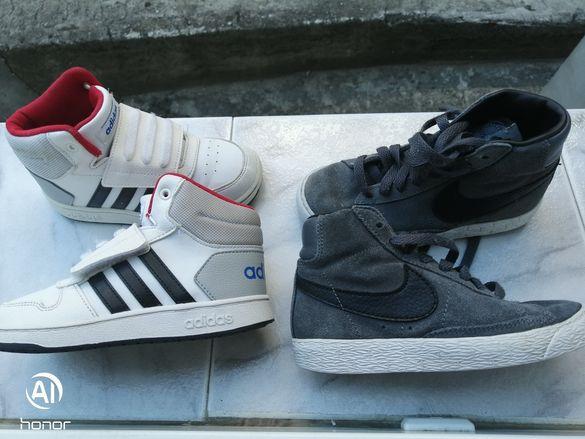 Оригинални детски обувки Nike, Adidas