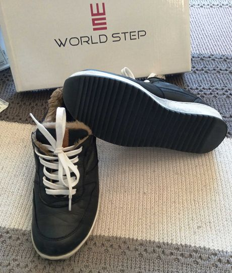 Кроссовки «Word Step» (Турция) кожа, 36 размер
