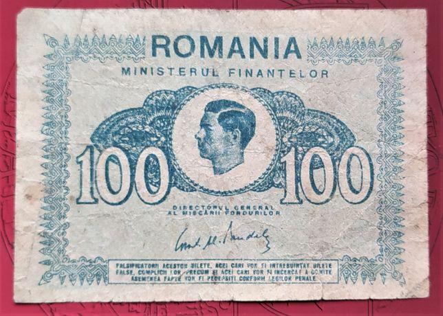 100 lei Bancnota 1945