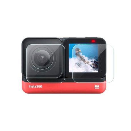 Стъклен протектор garv™️ за insta360 one r, за екрана и обектива