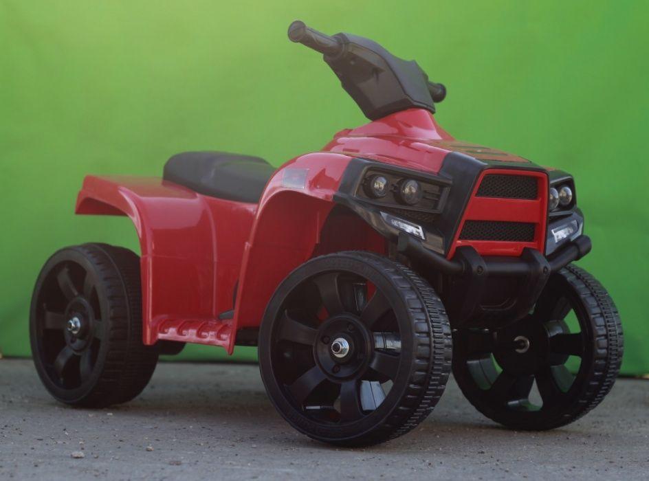 ATV electric pentru copil 1-3 ani, Offroad Panda 35W 6V 4.5Ah #Rosu Bacau - imagine 1