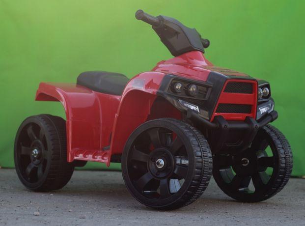 ATV electric pentru copil 1-3 ani, Offroad Panda 35W 6V 4.5Ah #Rosu