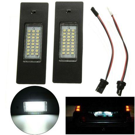 BMW E81 E87 E63 LED диодни плафони за заден регистрационен номер БМВ