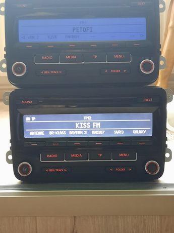 Radio Rcd 310 cu COD,Navigatie cu cod  ,vw Golf, tiguan,skoda, Passat.