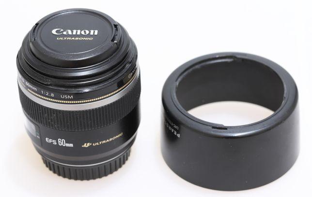 Объектив Canon EF-S 60mm f2.8 USM