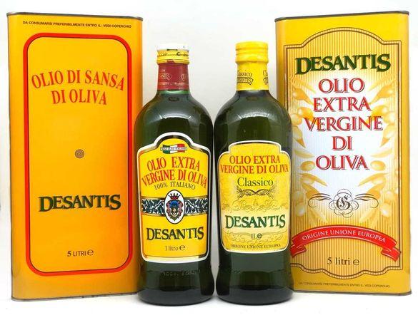 Италиански зехтин екстра върджин DESANTIS 1л/5л