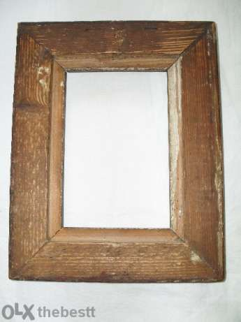 Уникална стара рамка. Размери 23 на 18