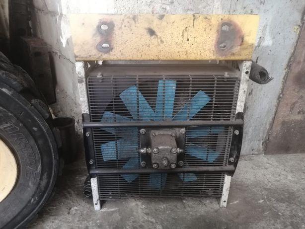 Радиатор гидро охлаждение с гидромотор и вентилятором