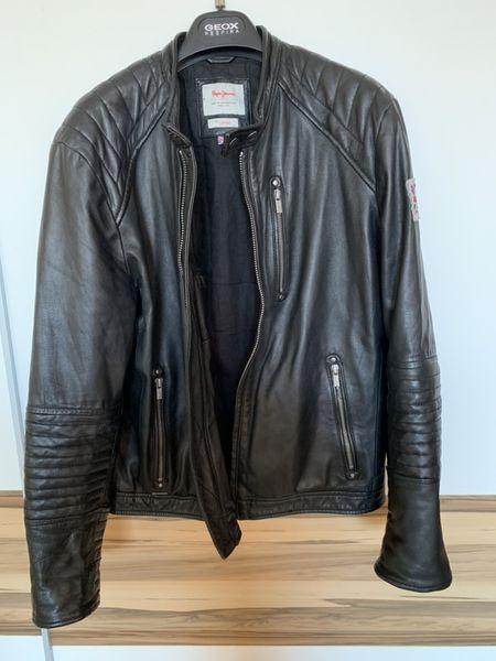 Естествена кожа Мъжко яке Pepe Jeans London като ново размер L гр. Стара Загора - image 1