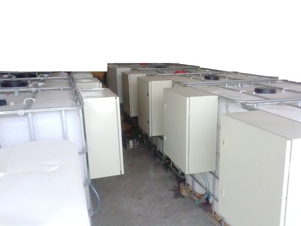 Bazin rezervor cu pompatransfer motorina Cutie Antiefractie