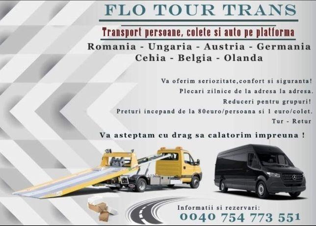 Transport Persoane Romania Germania Olanda Belgia