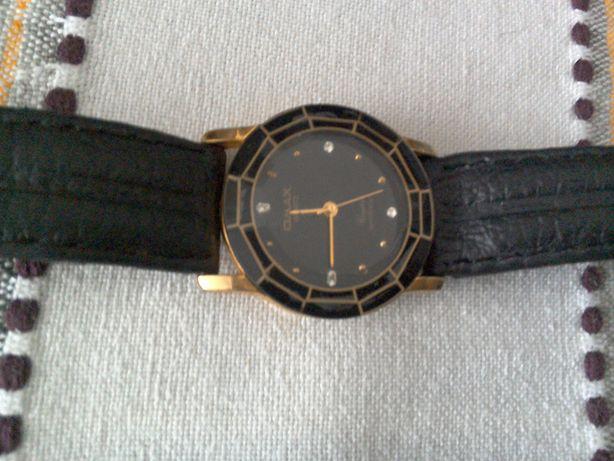 Ceas Omax, placat aur, original, elegant, quartz - 32 mm