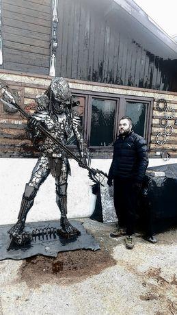 Predator Metal Art