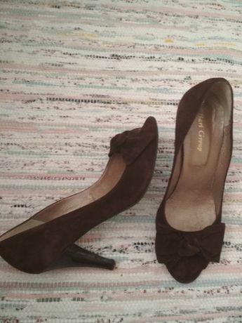 естествена кожа обувки Bari