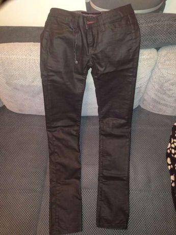 Pantaloni cu aspect de piele Calvin Klein