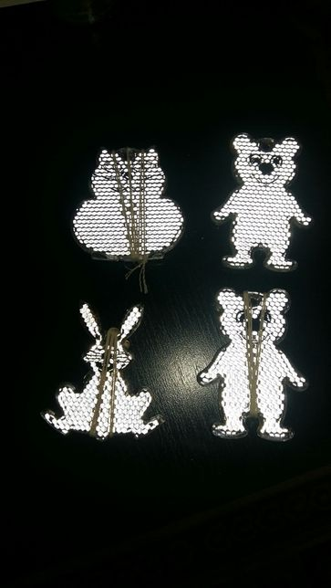 Figurina reflectorizanta protectie copii- ochi pisica
