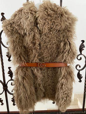 Vesta Zara din blana naturala