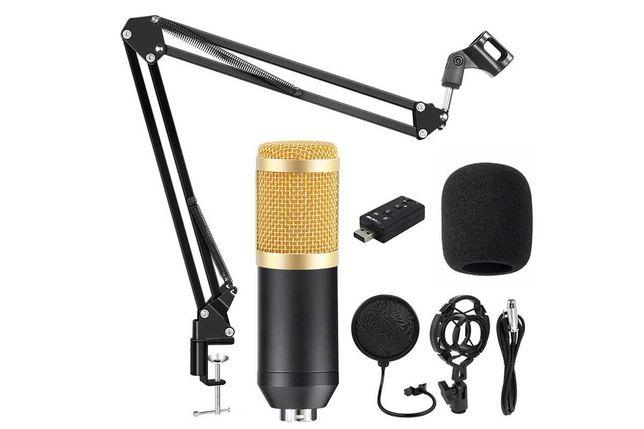 Студийный микрофон BM 800, полный комплект. Мега цена. Алматы.