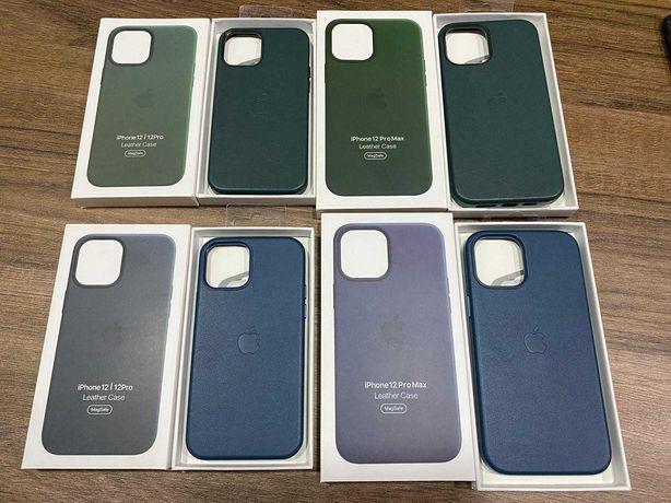 Huse MagSafe Piele iphone 12 Mini 12 12 Pro 12 Pro Max