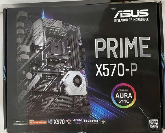 ASUS Prime X570-P , Материнская плата AM4