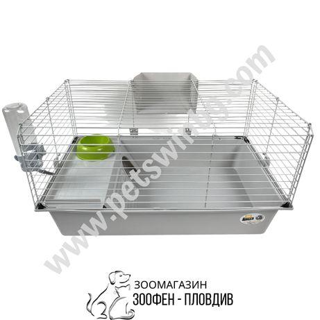 Ferplast Cage Rabbit/Cavie 80 - 79/49/43.5см - Клетка за Гризачи