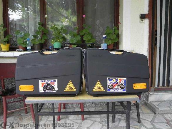Ретро странични куфари за мотоциклет Krauser