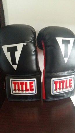 Mărimea  8, mănuși box TITLE, noi.