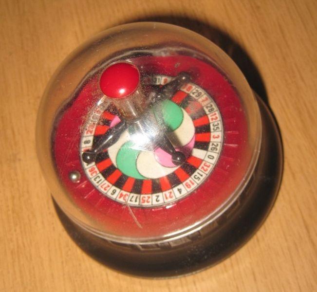 Миниатюрна ролетка, джобна рулетка за игра гр. Пазарджик - image 1