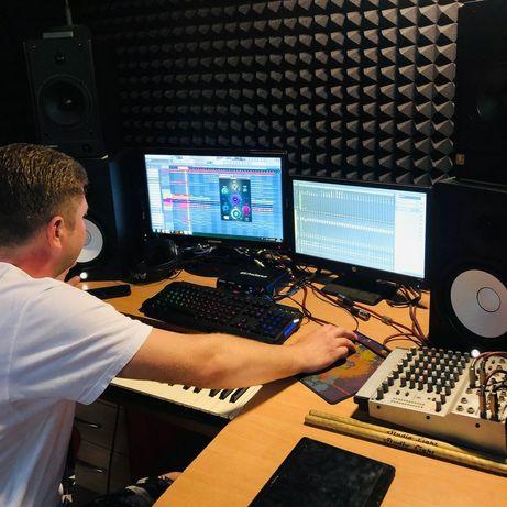 Студия звукозаписи и репетиционная база.