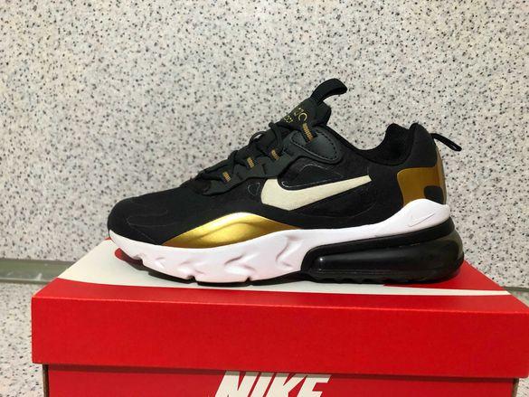 ОРИГИНАЛНИ *** Nike Air Max 270 React Anthracite/White/Black