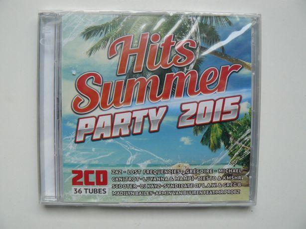 CD Compilatie HITS SUMMER PARTY 2015, Original, Sigilat, Contine 2 CD