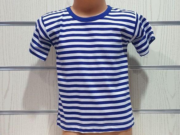 Нова детска моряшка класическа тениска от 3 месеца до 15 години