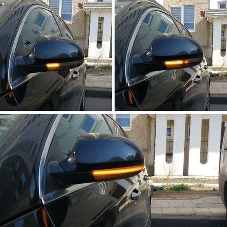 Semnalizare dinamica repetitiva oglinzi laterale vw Golf 5 Passat B6